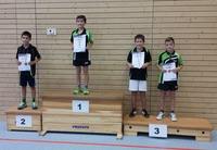 Siegerehrung Tischtennis-Kreiseinzelmeisterschaften 2015 Schüler C Einzel