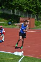 Die Leichtathleten in Gießen