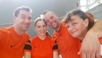 Rudi, Nina, Alex und Jutta