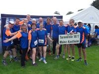TVK-Mannschaft beim 24-Stunden-Lauf