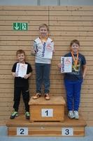 Siegerehrung Tischtennis-Vereinsmeister 2016 Einsteiger