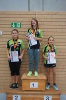 Siegerehrung Tischtennis-Vereinsmeister 2016 Mädchen