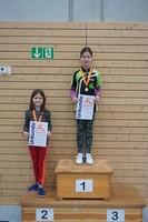 Siegerehrung Tischtennis-Vereinsmeister 2016 weibliche Einsteiger