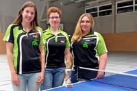 Mannschaftsfoto Tischtennis-Damen